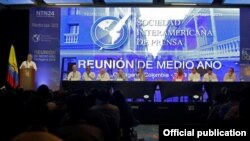Reunión de medio Año de la SIP. Tomado de sipiapa.org
