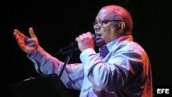 El cantautor cubano Pablo Milanés. Archivo.