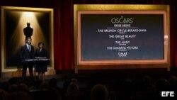 Nominaciones a la 86 edición de los Oscar
