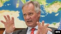 Christian Leffler, director general para las Américas del Servicio Exterior de la UE, Christian Leffler.