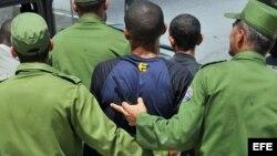 Reprimieron a activistas en Gibara luego de marcha dominical