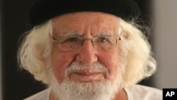 Ernesto Cardenal. AP Photo/Esteban Felix,