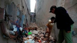 Ponen restricciones a entrega de ayuda a damnificados por tornado