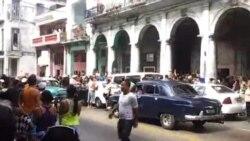 Violencia policial contra activistas que protestaron en La Habana