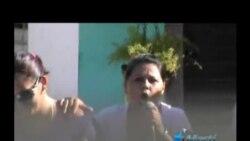 Acto de repudio a opositores en Camajuaní, Villa Clara