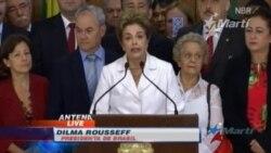 Parlamento de Brasil se decide por juicio político contra Dilma Rousseff