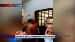 Migrantes cubanos presos en Panamá se declaran en huelga de hambre