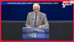 El jefe de la diplomacia europea, negó ser cómplice del régimen cubano, en el Parlamento Europeo