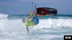 Imagen tomada del perfil público en Facebook de Havana Kitesurf Club.