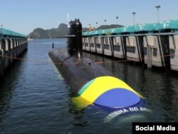 Submarino de Brasil.