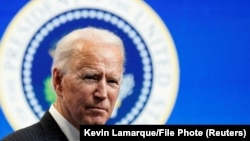 El presidente Joe Biden en la Casa Blanca. (Reuters / Kevin Lamarque).