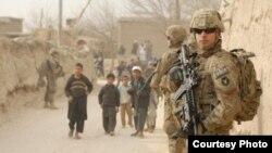 Soldados de EE.UU. en Afganistán.