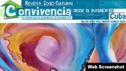 Portada de la Revista Convivencia.
