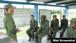 Preparación militar en 2015, en Cienfuegos.