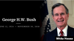 George H.W.Bush. White House Picture.