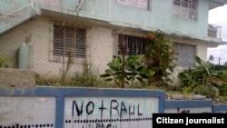 Reporta Cuba. Grafitis en Santiago de Cuba. Foto: Leonardo Riverí.