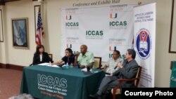 Guillermo Fariñas conferencia Exilio y Oposición Cubana.