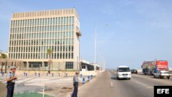 Sede de la Sección de Intereses de Estados Unidos (SINA) en La Habana (Cuba).
