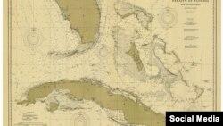 Carta de Navegación del Estrecho de la Florida