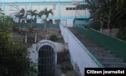 Reporta Cuba. Refugio en Caimanera. Foto: Yeider Fuentes.
