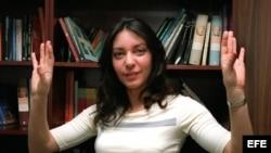 La escritora cubana Daína Chaviano en foto de archivo.