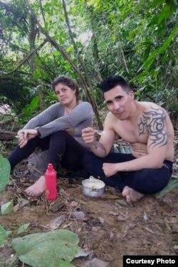 Yoania y José Antonio.