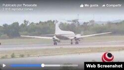 Llega a Venezuela primer vuelo con ayuda humanitaria