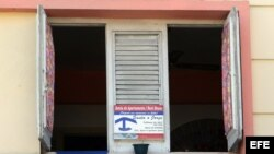 Vista exterior de una vivienda en La Habana. Archivo.