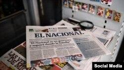 Diarios venezolanos.