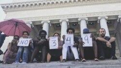 Movimiento San Isidro enfrenta la represión policial en su primer aniversario