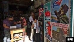 Imagen tomada en La Habana un día después de las exequias fúnebres de Fidel Castro (Foto: Archivo/Rolando Pujol/EFE).