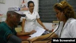 Médicos cubanos: sistema de salud necesita una reforma
