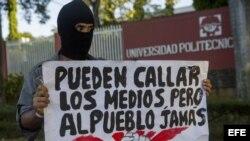 Quinto día de manifestaciones por reforma a seguridad social en Nicaragua.
