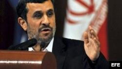 Mahmud Ahmadineyad,11 de enero de 2012 La Habana, Cuba