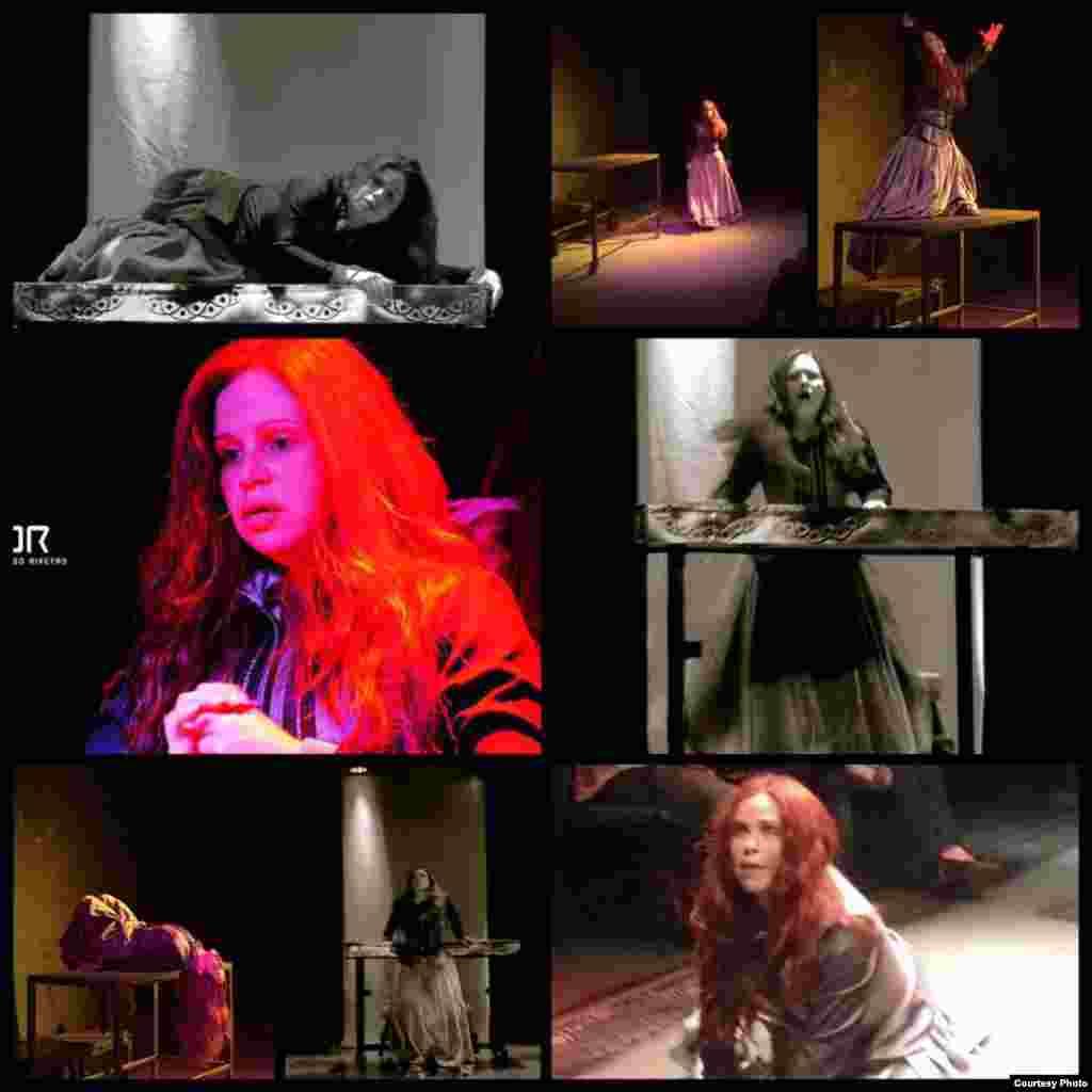 'Collage' con actuaciones de Yenilen Mola.