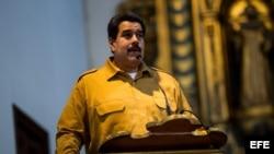 El presidente de Venezuela, Nicolás Maduro. Foto de archivo
