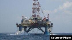 La plataforma noruega Songa Mercur fue utilizada en Cuba por la empresa rusa Zarubezhneft.