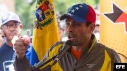 El gobernador del estado venezolano de Miranda y líder de la pposición en el país, Henrique Carpiles Radonski.