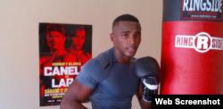El boxeador cubano superwelter, Erislandy Lara.