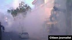 Fumigación en La Habana para exterminar focos de aedes aegypti