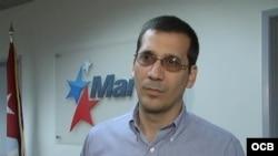 Antonio Rodiles visita Radio Martí,Televisión Martí y Martinoticias. com