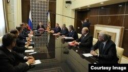 Reunión del Consejo de Seguridad de Rusia.