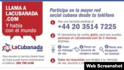 Llama a La Cubanada
