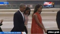 Obama se marcha de Cuba