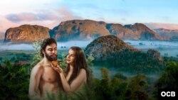 Adán y Eva en Cuba