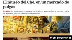 """La noticia en el diario """"Clarín""""."""