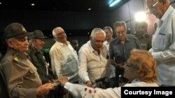"""Presentación del libro """"Historia de una gesta libertadora, 1952-1958"""", en La Habana, Cuba."""