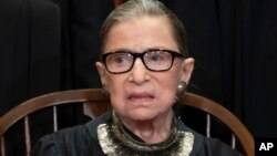Jueza de la Corte Suprema Ruth Ginsburg