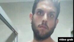 El diputado opositor Juan Requesens, en un video grabado en la sede del Servicio Bolivariano de Inteligencia, donde se encuentra detenido.