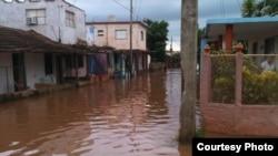 Aguas pestilentes ponen en riego la salud de habitantes de Güira de Melena